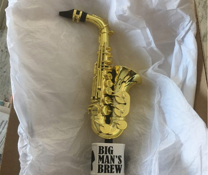 Big Man's Brew Signature Tap Handle Now Available for Pre-Order!