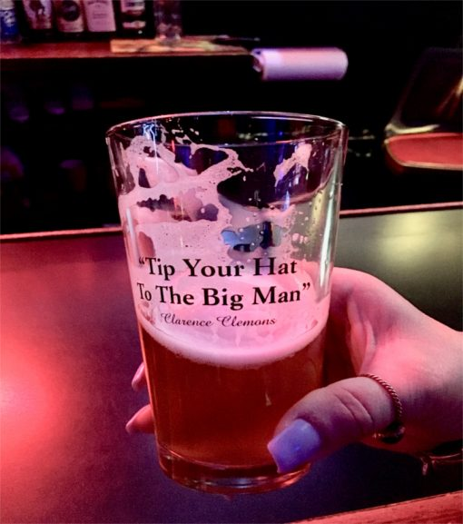 Big Man's Brew Tap Handle Unveiling at Brighton Bar in Asbury Park, NJ