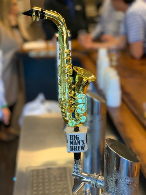 "Big Man's Brew - Beverage Products and Beer honoring Clarence ""Big Man"" Clemons - Signature Tap Handle"