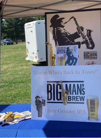 Big Man's Brew at the Central Jersey Beer & Wine Festival