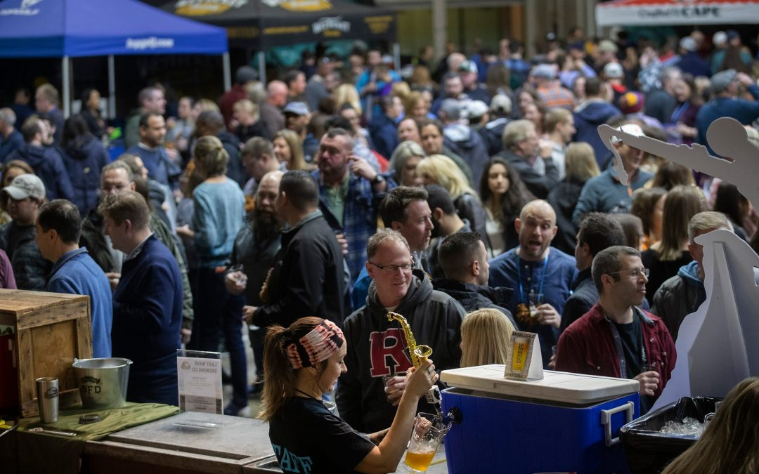 Big Man's Brew at the Asbury Park Beerfest in 2020