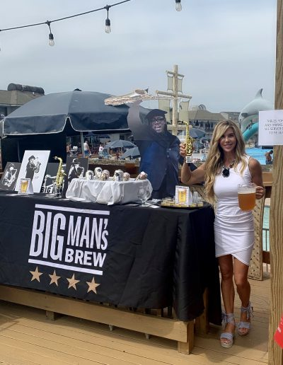 Big Man's Brew event at The tiki bar at the driftwood in sea bright